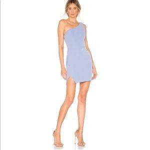 NBD Aldon mini dress blue